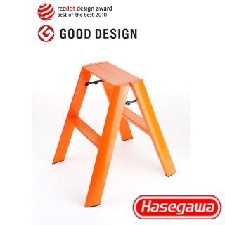 【長谷川Hasegawa設計好梯Lucano設計傢俱梯】2階56cm橘色(ML系列ML-2OR)