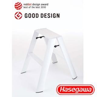 【長谷川Hasegawa設計好梯Lucano設計傢俱梯】2階56cm白色(ML系列ML-2WH)