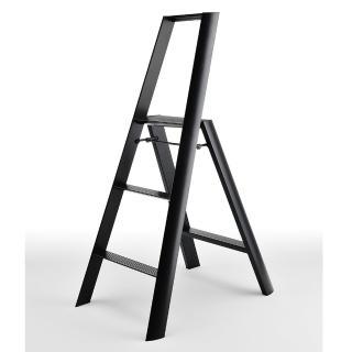 【長谷川Hasegawa設計好梯Lucano設計傢俱梯】3階79cm黑色(ML系列ML-3BK)