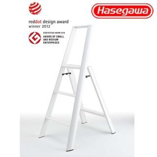【長谷川Hasegawa設計好梯Lucano設計傢俱梯】3階79cm白色(ML系列ML-3WH)