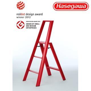 【長谷川Hasegawa設計好梯Lucano設計傢俱梯】3階79cm紅色(ML系列ML-3RD)