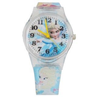 【迪士尼DISNEY】FROZEN冰雪奇緣艾莎兒童錶卡通錶(藍)