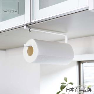 【YAMAZAKI】Plate層板廚房紙巾掛勾(白)