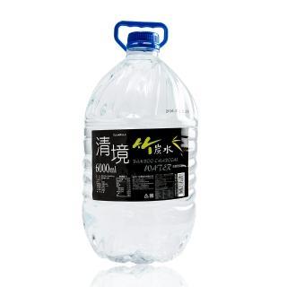 【清境】竹炭水6000cc(2瓶/箱)