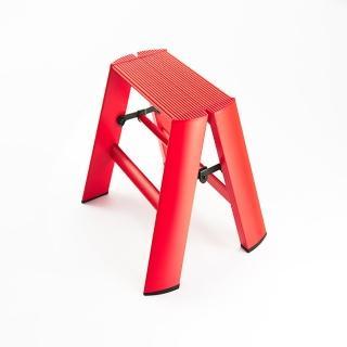 【長谷川Hasegawa設計好梯Lucano設計傢俱梯】1階24cm紅色(ML系列ML-1RD)