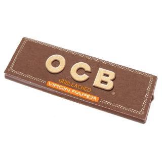 【OCB】法國進口-Virgin-純天然未漂白超薄捲煙紙(10包)