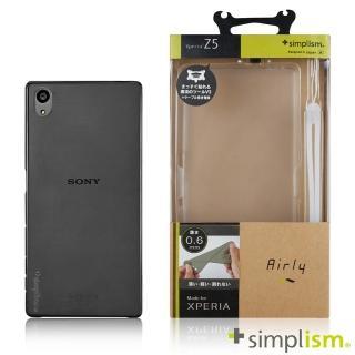 【Simplism】SONY Xperia Z5 0.6mm超薄型保護殼組