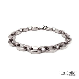 【La Jolla】維納斯 純鈦手鍊(銀色)