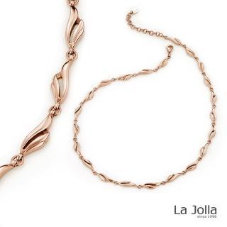 【La Jolla】夢想之翼 純鈦鍺項鍊(金色)