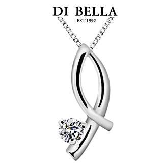 【DI BELLA】屬於天然美鑽墜鍊(10分)