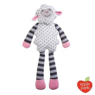 【美國 Apple Park】農場好朋友系列 有機棉安撫玩偶(小羊夢夢)
