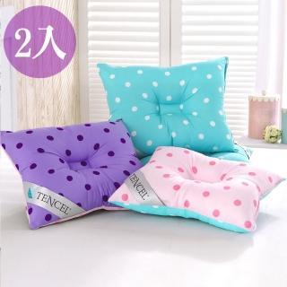 【三浦太郎】頂級天絲雙色點點兒童人體工學保護枕/2入/3色