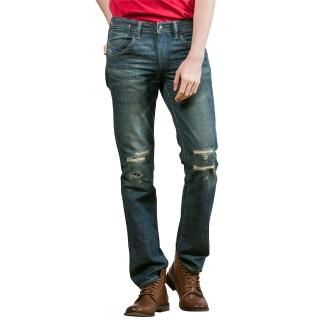 【Levis】511 修身窄管 9oz輕磅丹寧牛仔褲 異材質補丁