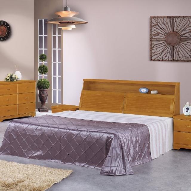 【時尚屋】威爾特5尺樟木雙人床-不含床頭櫃-床墊(G16-057-1+057-2)