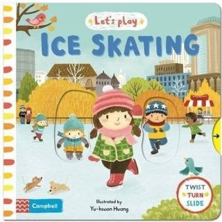 【Song Baby】Let's Play:Ice Skating 溜冰玩樂(硬頁推拉操作書)