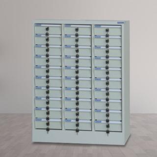【時尚屋】DF多用途PC存放櫃30格不透明抽(RU5-DF-PC-30N)