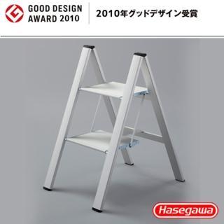 【長谷川Hasegawa設計好梯Narrow step設計傢俱梯】2階56cm銀白色(SJ系列SJ-5BA)