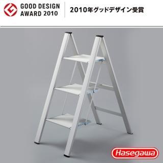 【長谷川Hasegawa設計好梯Narrow step設計傢俱梯】3階78cm銀白色(SJ系列SJ-8BA)