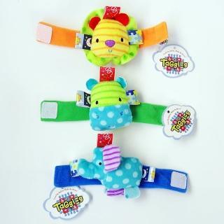 可愛立體寶寶鈴鐺腕帶手錶(3入)