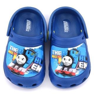 【童鞋城堡】湯瑪士 中小童 造型花園鞋(TH1547-藍)