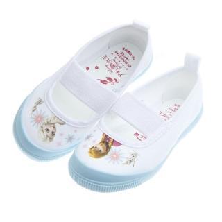 【布布童鞋】Moonstar日本製Disney冰雪奇緣淺藍兒童室內鞋(IDJ019M)