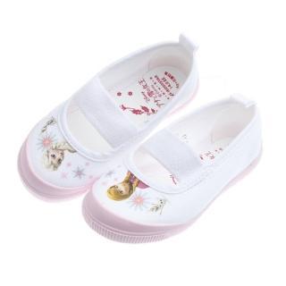 【布布童鞋】Moonstar日本製Disney冰雪奇緣粉色兒童室內鞋(IDK014G)