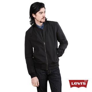 【Levis】男款黑色率性夾克外套 Thermore保溫棉