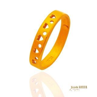 【J'code 真愛密碼】好心情戒指(時尚金飾)
