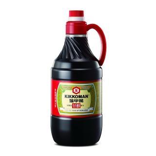 【龜甲萬】甘醇醬油PET1600ml/罐(100%純釀造 經典美味)