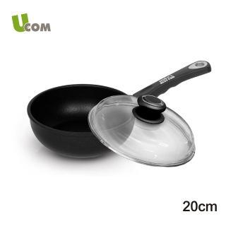 【UCOM德國AMT】單柄不沾小圓鍋24CM