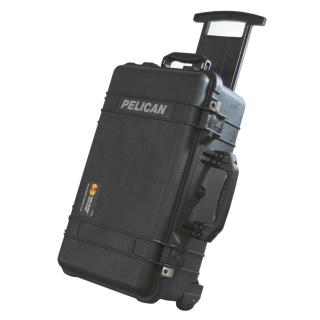 【美國 PELICAN】1510 氣密箱 登機箱 含輪座(黑色)