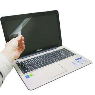 【EZstick】ASUS K555L windows 10版 專用 靜電式筆電液晶螢幕貼(可選鏡面或霧面)