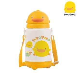 【黃色小鴨PiyoPiyo】滑蓋保溫保冷水壺(420ml)