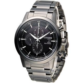 【星辰 CITIZEN】急速豪傑光動能計時腕錶(CA0615-59E)
