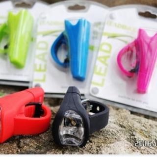 【May Shop】自行車前燈 單車燈 LED燈(USB充電頭燈)