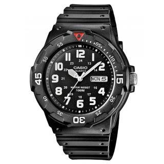 【CASIO】潛水風DIVER LOOK系列錶(MRW-200H-1B)