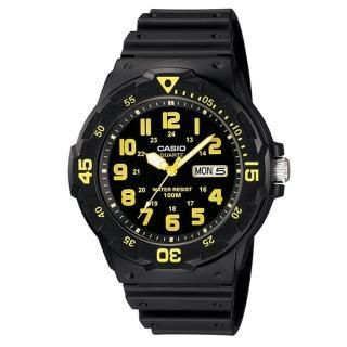 【CASIO】潛水風DIVER LOOK系列錶(MRW-200H-9B)