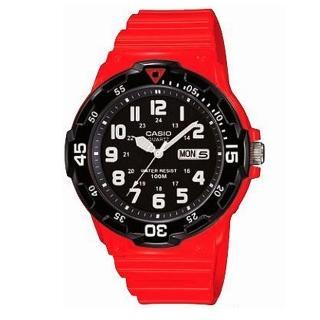 【CASIO】潛水風DIVER LOOK系列錶(MRW-200HC-4B)