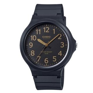 【CASIO】簡約指針休閒錶(MW-240-1B2)
