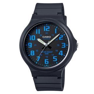 【CASIO】簡約指針休閒錶(MW-240-2B)