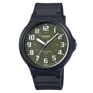 【CASIO】簡約指針休閒錶(MW-240-3B)