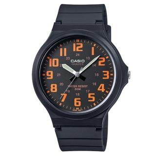 【CASIO】簡約指針休閒錶(MW-240-4B)