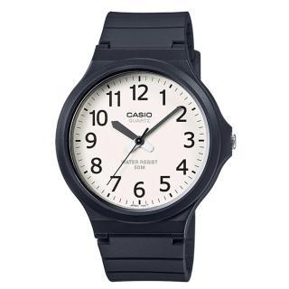 【CASIO】簡約指針休閒錶(MW-240-7B)