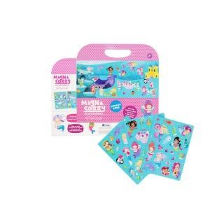 【澳洲 Tiger Tribe】可攜式情境磁性貼-歡樂美人魚