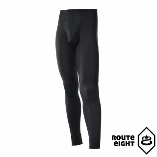 【ROUTEEIGHT】男 WARM 保暖內搭褲(黑色)