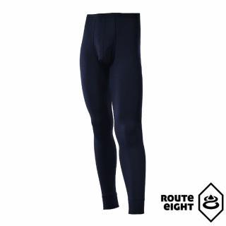 【ROUTEEIGHT】男 WARM 保暖內搭褲(海軍藍)