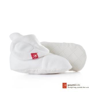 【美國 Goumikids】有機棉嬰兒腳套(菱形點點)