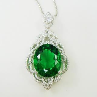 【蕾帝兒珠寶】美麗佳人綠曜墜