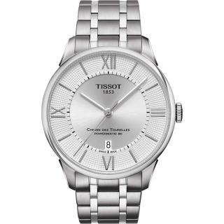 【TISSOT】杜魯爾系列機械動力80腕錶(T0994071103800)