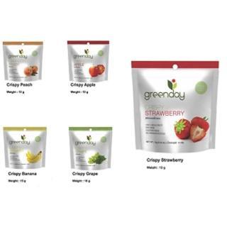 泰國原裝進口greenday新鮮水果凍乾